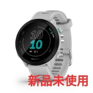 GARMIN - GARMIN ガーミン ForeAthlete 55 WHITEウォッチ 腕時計