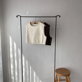 Kastane - *即購入OK*nuyuh◉side button vest