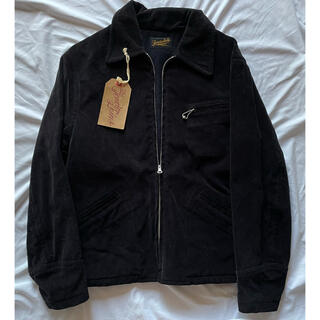 テンダーロイン(TENDERLOIN)のテンダーロイン マスターコード コーデュロイ ジャケット S 黒 ブラック(ブルゾン)