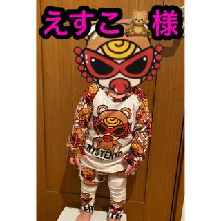 ヒステリックミニ(HYSTERIC MINI)のえすこ🧸様❤❤(Tシャツ/カットソー)