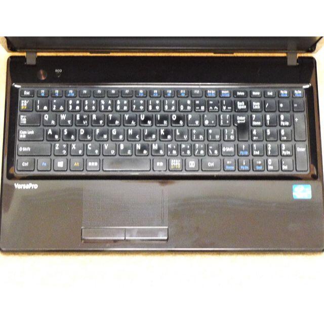 NEC(エヌイーシー)の美品ピアノブラックWebカメラ★Win10Pro★i3/250GB/4GB スマホ/家電/カメラのPC/タブレット(ノートPC)の商品写真
