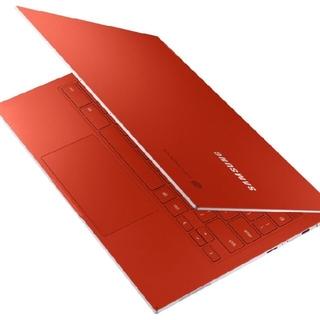 SAMSUNG - Samsung Galaxy Chromebook レッド 4K