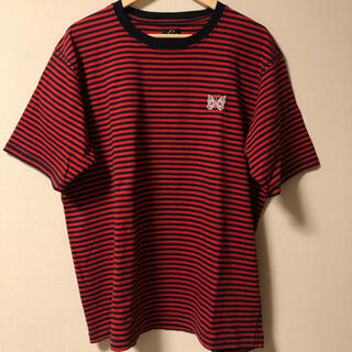 ニードルス(Needles)のneedles Tシャツ Lサイズ(Tシャツ/カットソー(半袖/袖なし))
