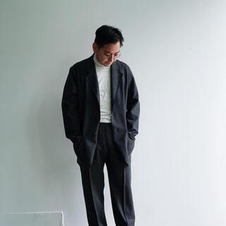 コモリ(COMOLI)のCale for TF natural wool felt jacket 別注(テーラードジャケット)