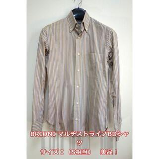 プラダ(PRADA)の【美品】ブリオーニ ストライプBDシャツ BRIONI(シャツ)