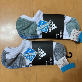 New Balance - 男の子 adidas アディダス 靴下 24〜26cm 6足新品未使用品タグ付き