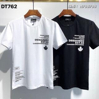 ディースクエアード(DSQUARED2)のDSQUARED2(#131)2枚9000 Tシャツ 半袖 M-3XLサイズ選択(その他)