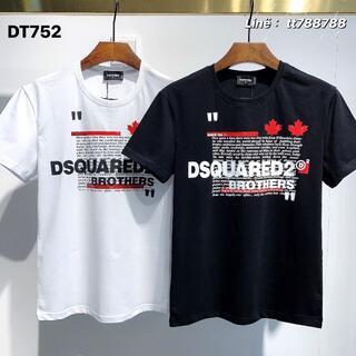 ディースクエアード(DSQUARED2)のDSQUARED2(#135)2枚9000 Tシャツ 半袖 M-3XLサイズ選択(その他)