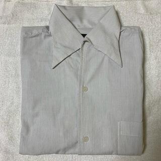 コムサイズム(COMME CA ISM)の☆週末限定値下げ☆ コムサイズム ストライプ 長袖 シャツ Lサイズ(シャツ)