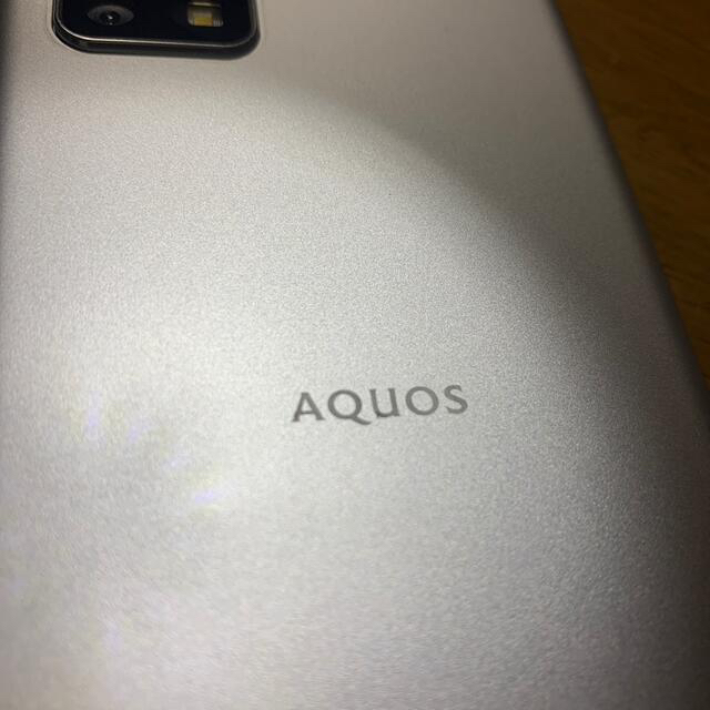 AQUOS(アクオス)のAQUOS sense4 basic A003SH Ymobile スマホ/家電/カメラのスマートフォン/携帯電話(スマートフォン本体)の商品写真