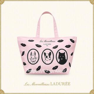 レメルヴェイユーズラデュレ(Les Merveilleuses LADUREE)のレ・メルヴェイユーズ ラデュレ トートバッグ(トートバッグ)