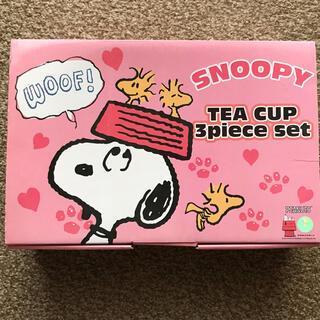 スヌーピー(SNOOPY)のスヌーピー ティーカップ3点セット(食器)