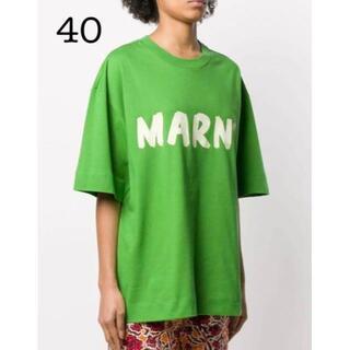 マルニ(Marni)の【MARNI】新品◇マルニ◇オーバーサイズTシャツ◇40◇M◇ユニセックス(Tシャツ(半袖/袖なし))
