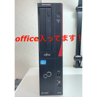 フジツウ(富士通)の 富士通 デスクトップpc Core i3 Windows10 限定価格(デスクトップ型PC)