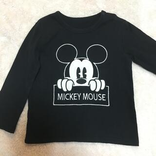 UNIQLO - ユニクロ ❤️ ミッキー ディズニー ロングTシャツ ロンT 長袖  100