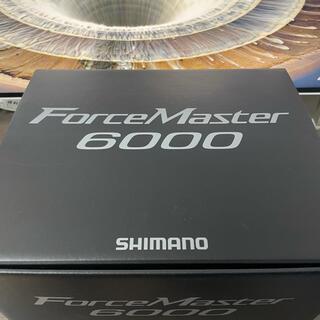 シマノ(SHIMANO)のシマノ フォースマスター6000  SHIMANO 20(リール)