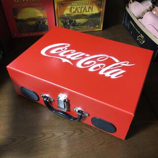 コカ・コーラ - コカコーラ レコード プレーヤー ポータブル SOLD OUT