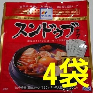 コストコ(コストコ)のスンドゥブチゲ 4袋(レトルト食品)