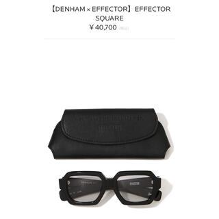エフェクター(EFFECTOR)のDENHAM × EFFECTOR EFFECTOR SQUARE(サングラス/メガネ)