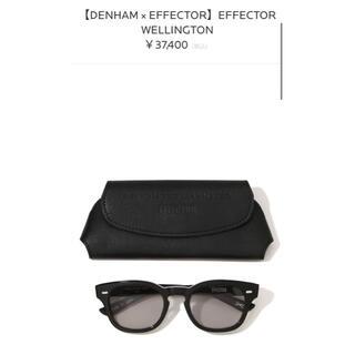 エフェクター(EFFECTOR)のDENHAM × EFFECTOR WELLINGTON(サングラス/メガネ)