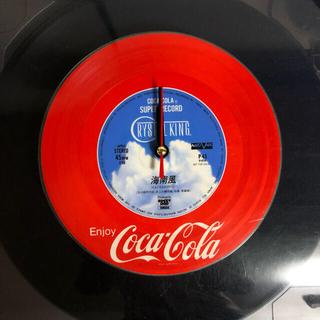 コカ・コーラ - コカコーラ レコード 時計