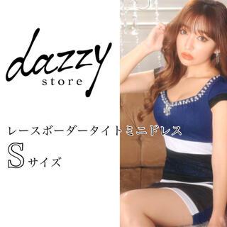 dazzy store - 即日発送【デイジーストア】レースボーダータイトドレス キャバドレス ワンピース