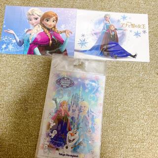ディズニー(Disney)のアナと雪の女王 ポストカード 3点セット(キャラクターグッズ)