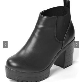 グレイル(GRL)のグレイル GRL サイドゴア ショートブーツ(ブーツ)