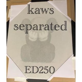 真作 新品 kaws separated シルクスクリーン ED250(版画)