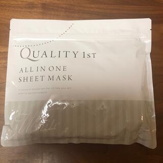 QUALITY FIRST - プラセンタクオリティファースト オールインワンシートマスク 30枚