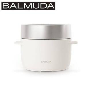 バルミューダ(BALMUDA)のバルミューダ ゴハン 炊飯器 ホワイト(炊飯器)