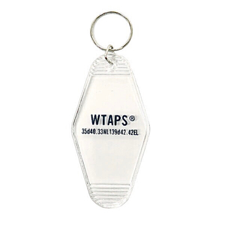 W)taps - Wtaps 19SS Key Holder. Acrylic Clear 新品