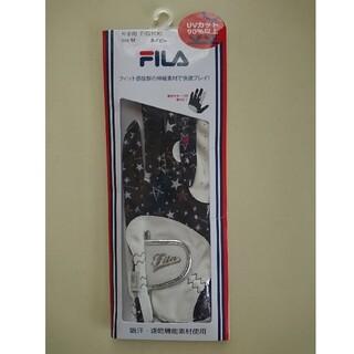 フィラ(FILA)のゴルフ FILA 手袋(左M)(その他)