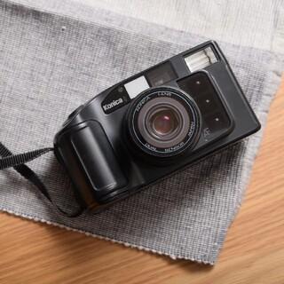 コニカミノルタ(KONICA MINOLTA)の電池付 Konica MR.640 フィルムカメラ コニカ 完動品 電池付(フィルムカメラ)