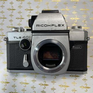 リコー(RICOH)のジャンク部品取りRICOHFLEX TLS401(フィルムカメラ)
