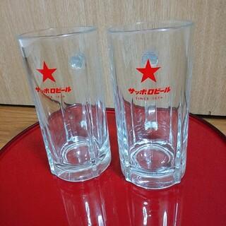 サッポロ(サッポロ)のサッポロビール ジョッキ2個セット 赤星版(グラス/カップ)