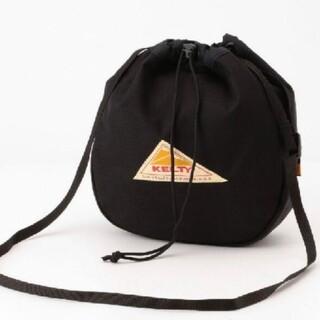 KELTY - KELTY ケルティ大人気 軽量巾着タイプショルダーバッグカラー ブラック