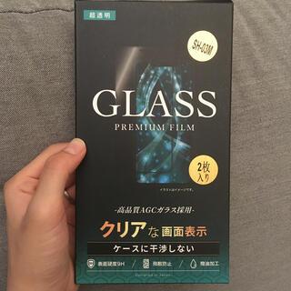SH-03M キッズケータイ ガラスフィルム(保護フィルム)