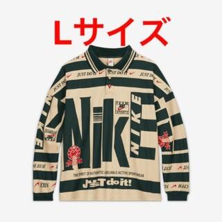ナイキ(NIKE)のNike CPFM Longsleeve Polo Natural 【Lサイズ】(Tシャツ/カットソー(七分/長袖))