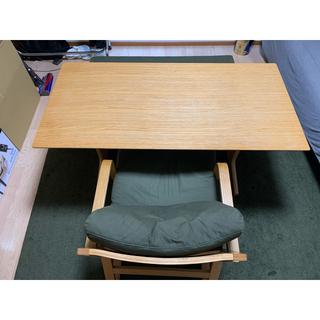 ムジルシリョウヒン(MUJI (無印良品))の<直接取引き限定>無印良品/MUJI ダイニングテーブルセット(ダイニングテーブル)