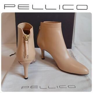 ペリーコ(PELLICO)の富岡佳子さん着用★新品 ペリーコ 定番 ショートブーツ 定価79,200円(ブーツ)