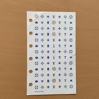 ルイヴィトン(LOUIS VUITTON)のルイヴィトン 手帳用シール(シール)