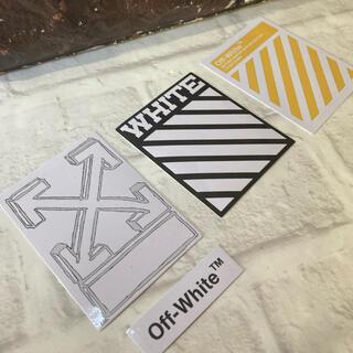 オフホワイト(OFF-WHITE)のOff White Sticker 【期間限定セット】(その他)