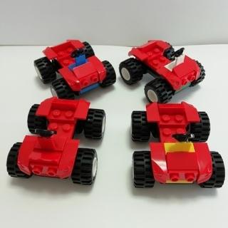 レゴ(Lego)のLEGO中古 車セット ② 4台🚙🚙🚙🚙(その他)