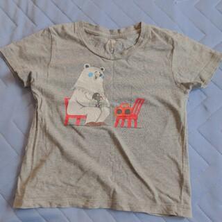Design Tshirts Store graniph - グラニフ クルテクTシャツ 110サイズ グレー 中古
