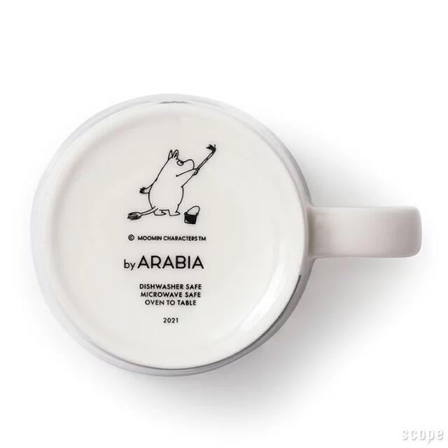ARABIA(アラビア)の2個セット アラビア / ムーミン マグ Moomin's day 2021 インテリア/住まい/日用品のキッチン/食器(グラス/カップ)の商品写真