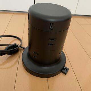 エレコム(ELECOM)のエレコム 電源タップ タワー(変圧器/アダプター)