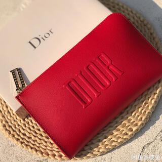 Dior - ディオール Dior ポーチ L型 化粧ポーチコスメポーチ ノベルティ 非売品