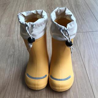 ムジルシリョウヒン(MUJI (無印良品))のキッズ用長靴 15㎝〜16㎝(長靴/レインシューズ)