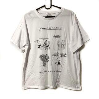 ランバンオンブルー(LANVIN en Bleu)のランバンオンブルー 半袖Tシャツ 38 M -(Tシャツ(半袖/袖なし))